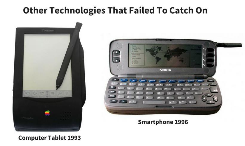 Technologies Failed Catch On