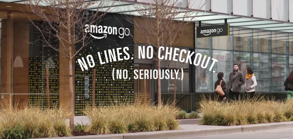 Amazon Go Storefront